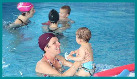 Bébés Nageurset jardin aquatique